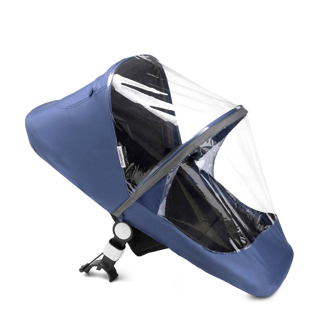 Bugaboo fox/cameleon high performance regenscherm blauw, Blauw
