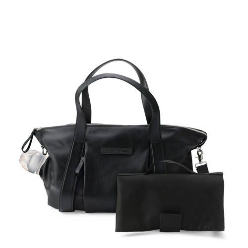 Bugaboo + Storksak bag leer zwart