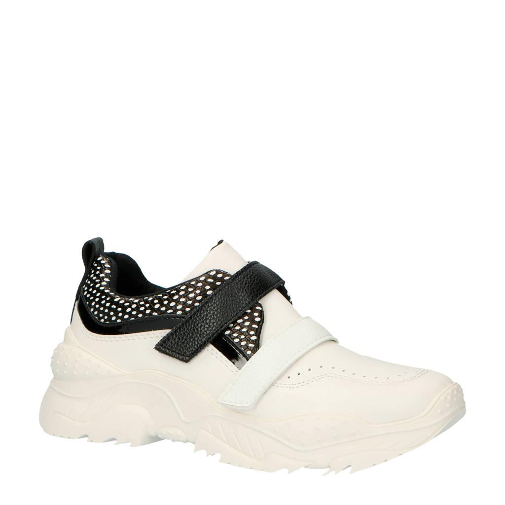Lost Ink Wide  Robyn chunky sneakers wit/zwart, Wit/zwart