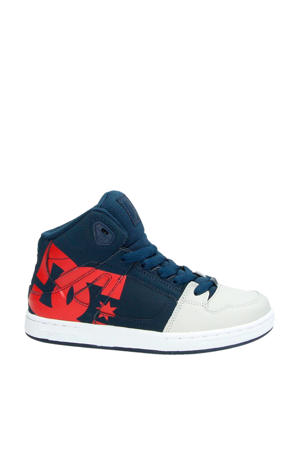 Pure High Top leren sneakers blauw
