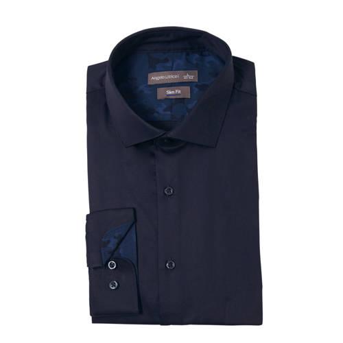 C&A Angelo Litrico slim fit overhemd marine