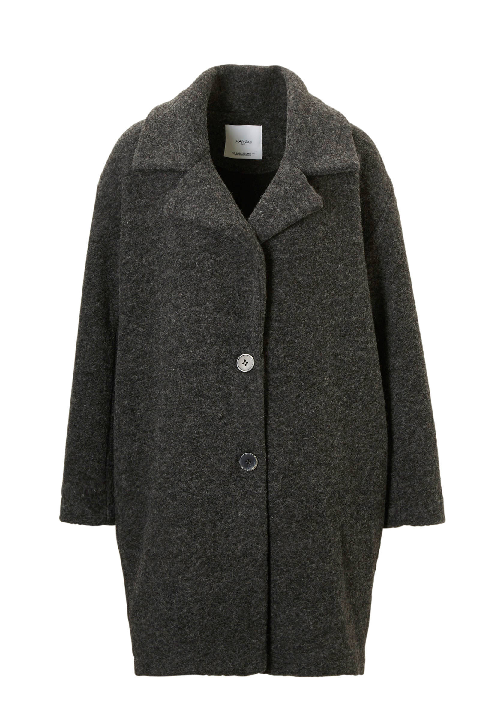 zwarte mantel jas dames