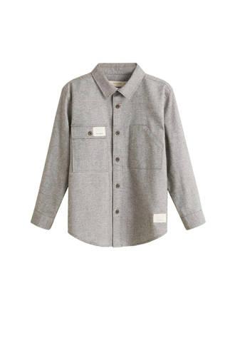 overhemd grijs