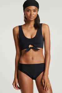 whkmp's beachwave bikinitop gevoerd zwart, Zwart