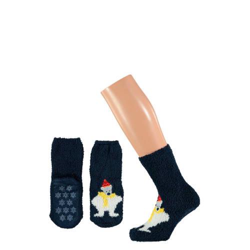 Apollo giftbox sokken kerst kids donkerbaluw
