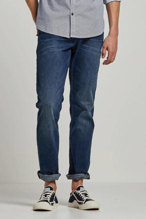 straight fit jeans Aeden mid stone wash
