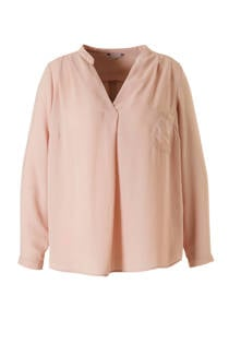 ONLY carmakoma top roze (dames)