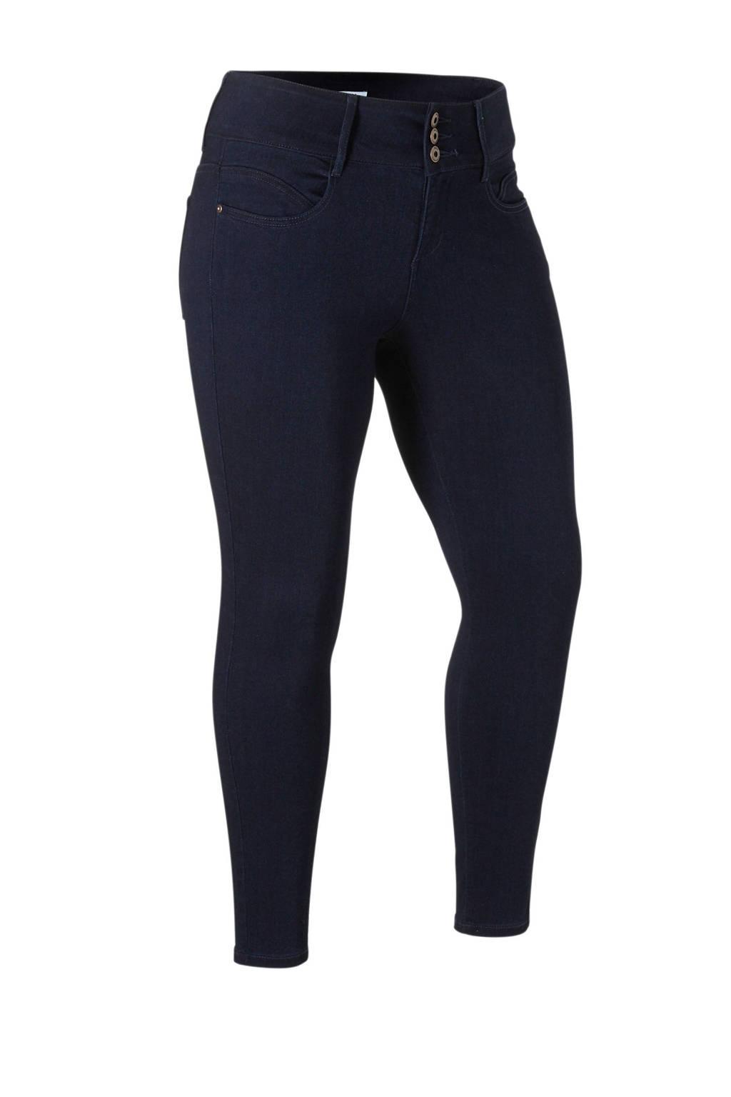 ONLY CARMAKOMA high waist skinny jeans dark denim, Dark denim