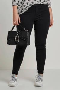 ONLY CARMAKOMA skinny jeans CARTHUNDER black, Zwart