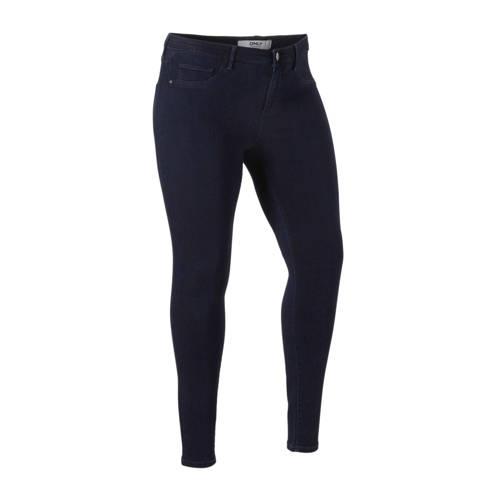 ONLY CARMAKOMA skinny jeans donkerblauw
