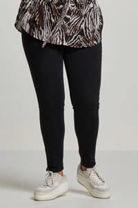 ONLY CARMAKOMA skinny jeans zwart CARKARLA black, Zwart