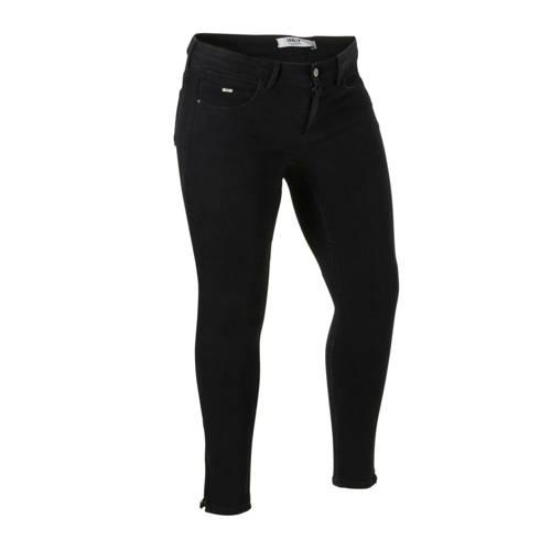 ONLY CARMAKOMA skinny jeans zwart CARKARLA black