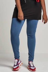 ONLY CARMAKOMA high waist skinny jeans lichtblauw, Lichtblauw