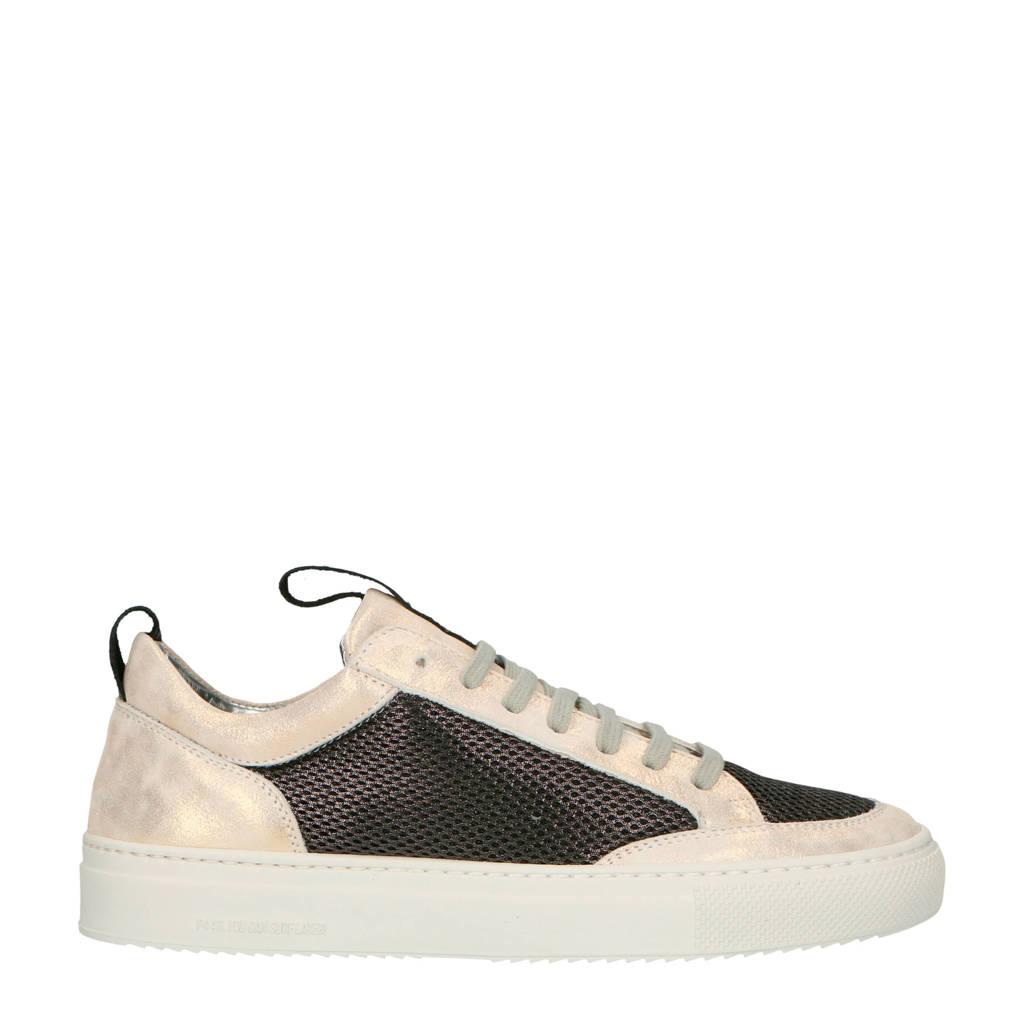 Suède Zwart Soho P448 goud Sneakers Ptn5Cq7w