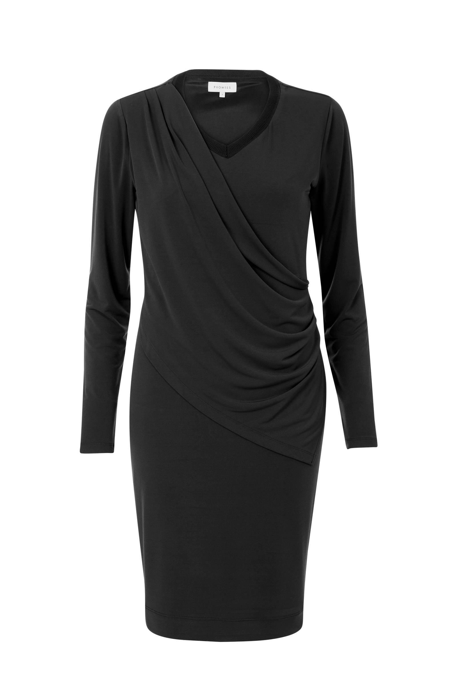 feestelijke jurk zwart