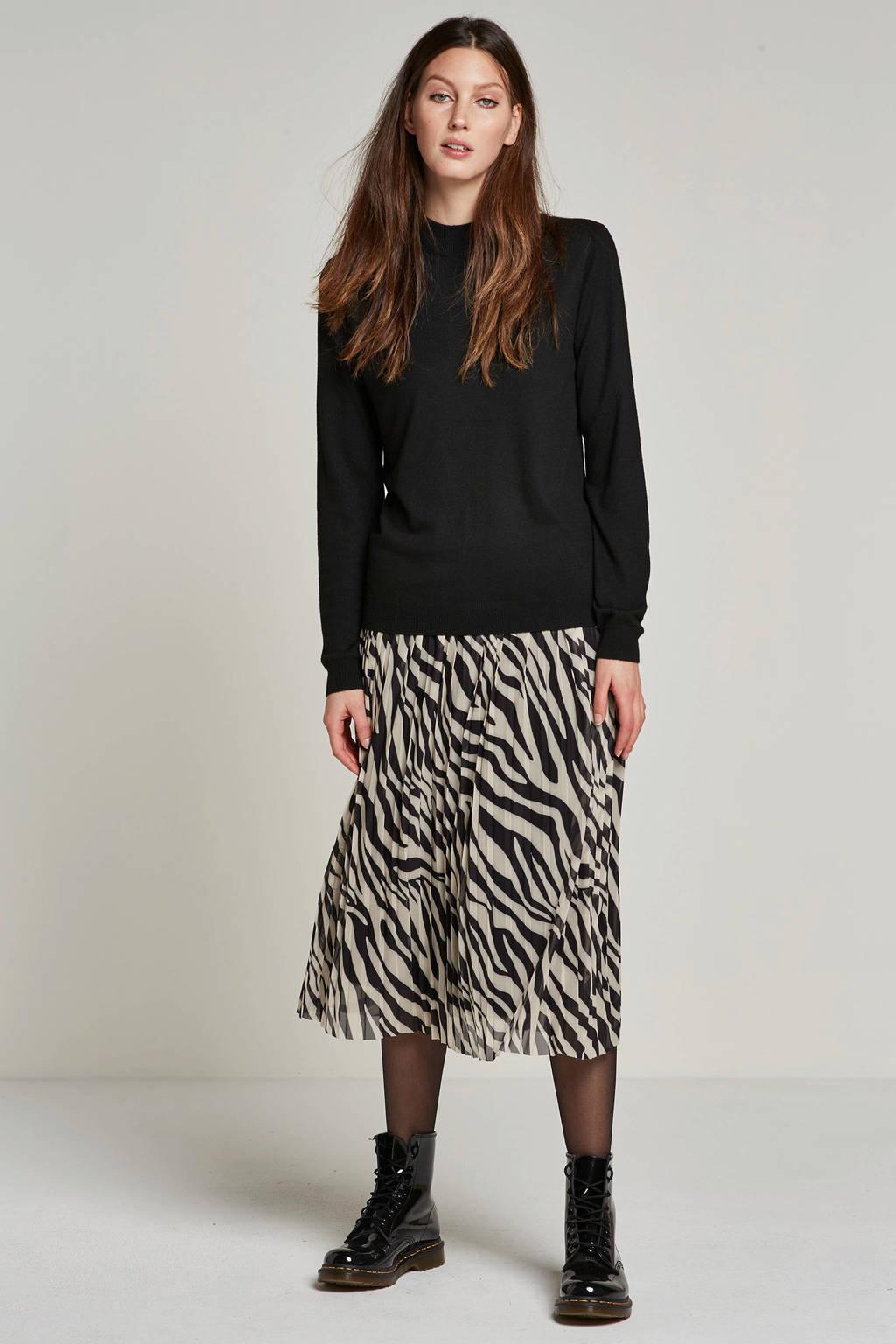 MSCH Copenhagen trui met wol, Zwart
