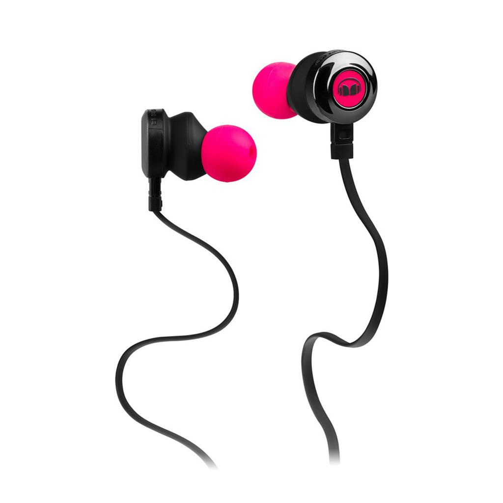 Monster Clarity HD in-ear koptelefoon roze, Roze