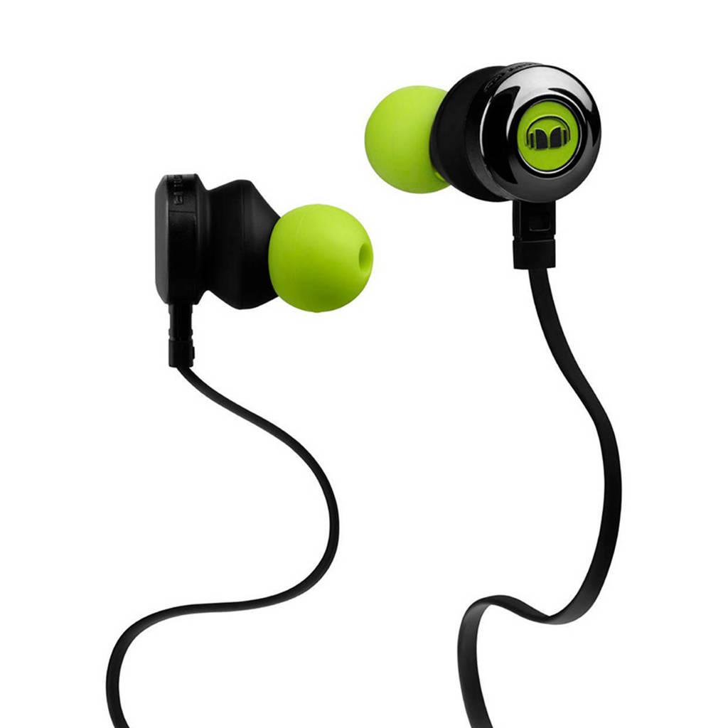 Monster Clarity HD in-ear koptelefoon groen, groen, zwart