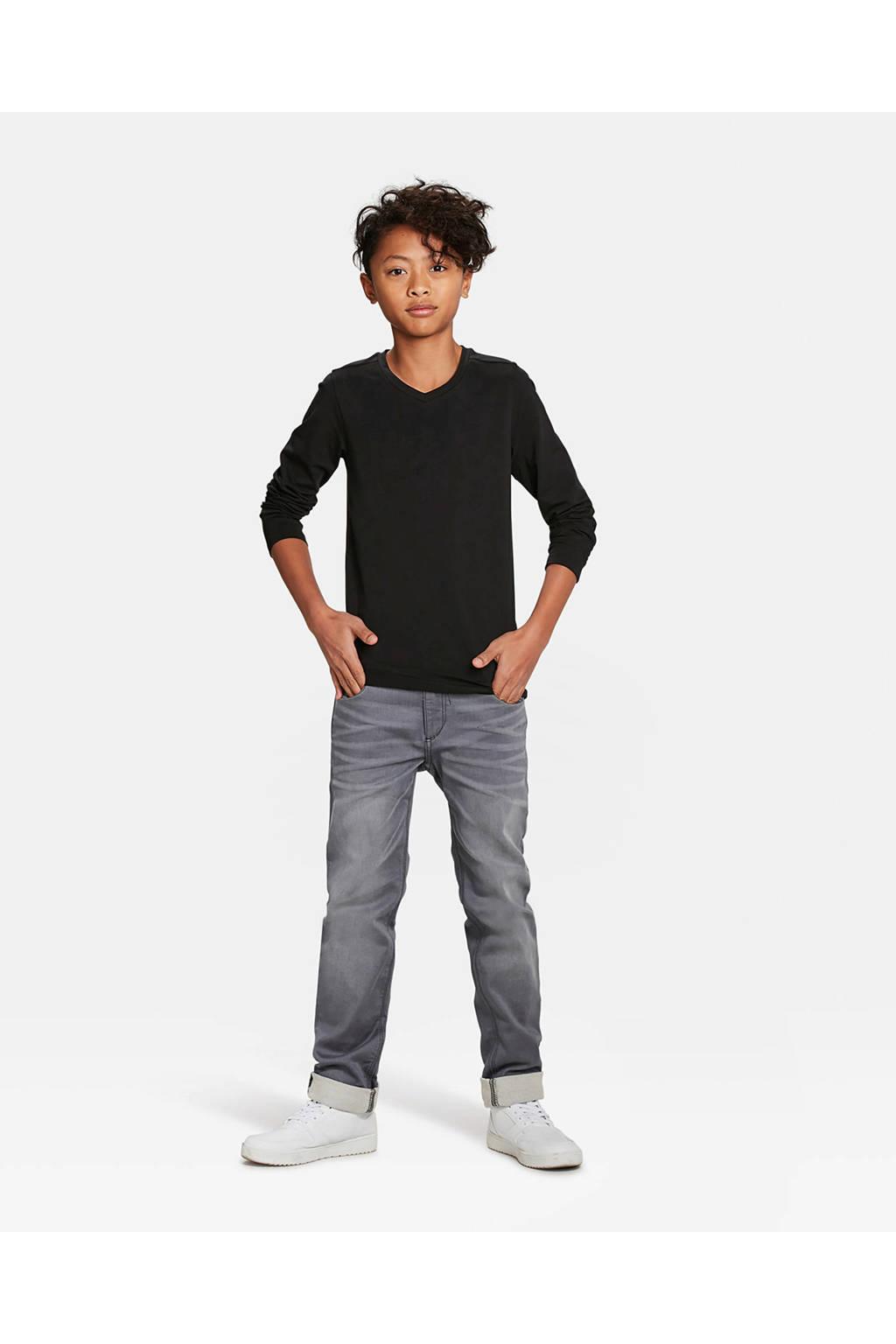 WE Fashion longsleeve - set van 2, Zwart
