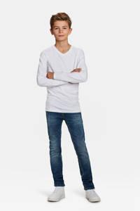 WE Fashion basic longsleeve - set van 2, Wit