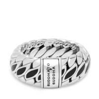 Buddha To Buddha Zilveren Ben Special Ring 490BL-17, Zilverkleurig