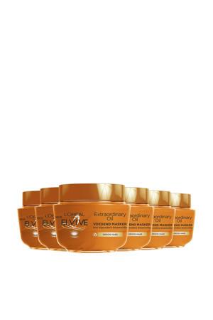 Elvive Extraordinary Oil haarmasker - 6 stuks