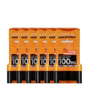 Men Expert Hydra Energetic douchegel - 6x 300ml
