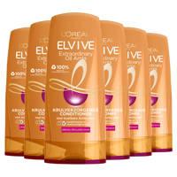 L'Oréal Paris Elvive Curl Nutrition cremespoeling - 6x 200ml multiverpakking