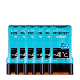 Men Expert Cool Power douchegel - 6x 300ml