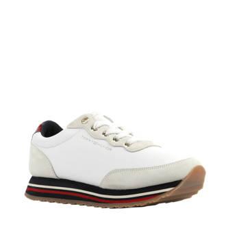 Retro Runner sneakers wit