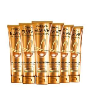 Extraordinary Oil-in-Cream haarserum - 6 stuks