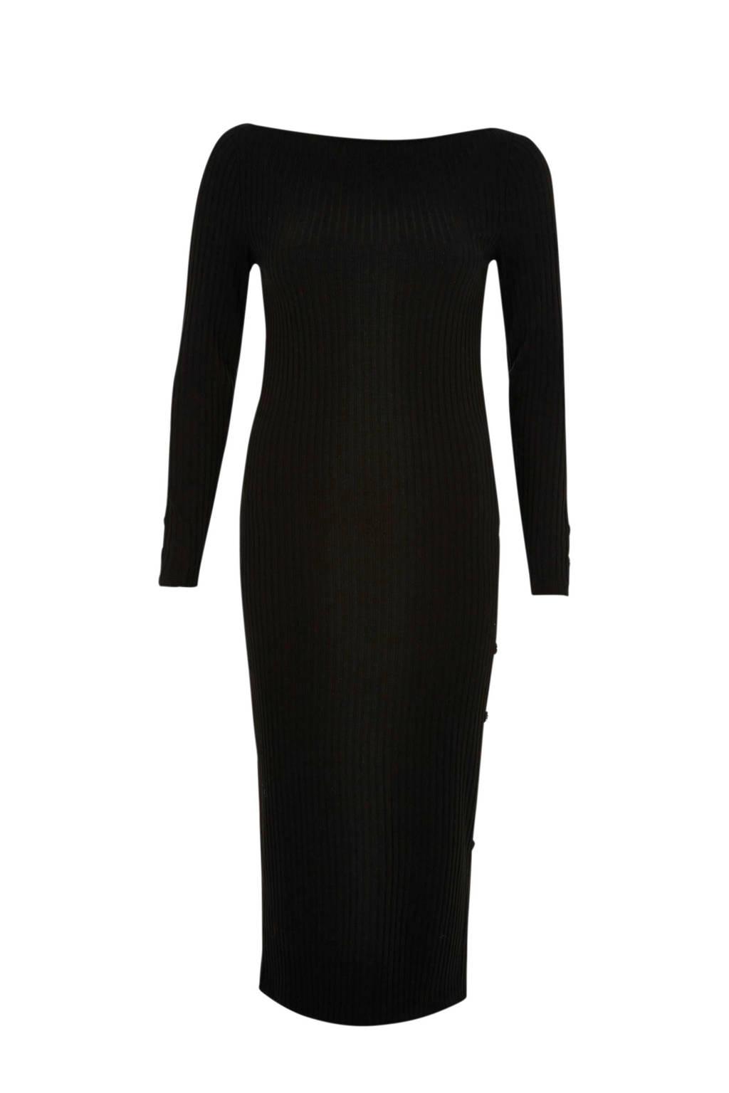 River Island jurk met boothals, Zwart