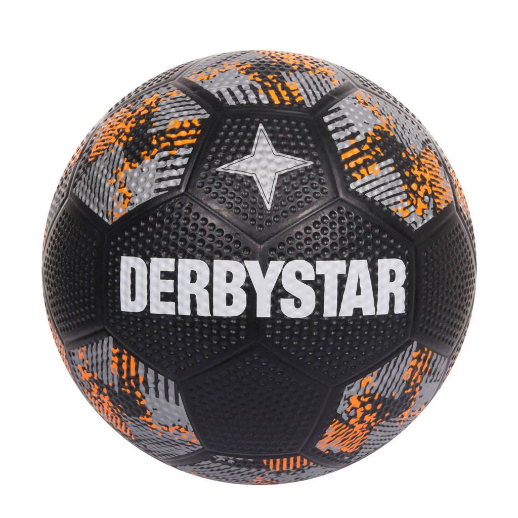 Derbystar   voetbal straat zwart, Zwart
