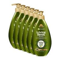 Garnier Loving Blends intens hydraterende bodymilk - 6x 250ml multiverpakking