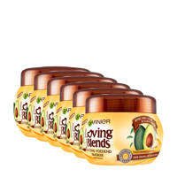 Garnier Loving Blends Avocado Karité masker - 6x 300ml multiverpakking