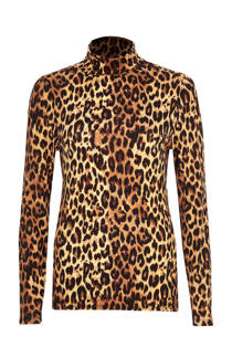 River Island top met panterprint (dames)