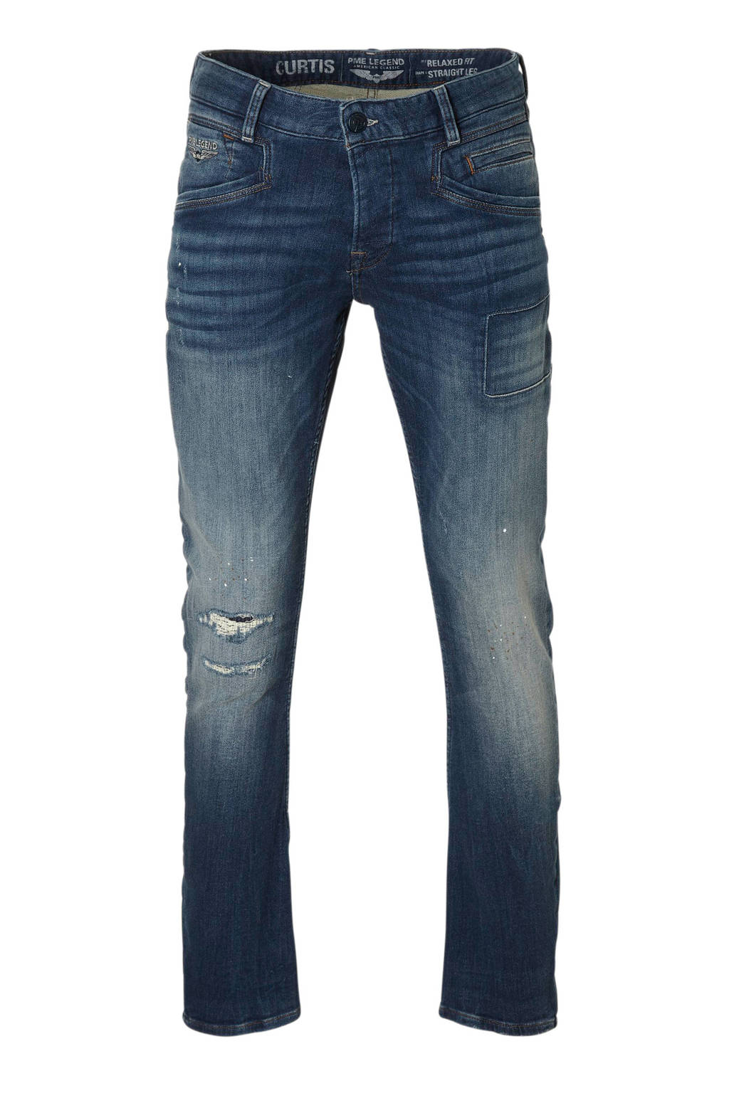 PME Legend regular fit jeans Curtis, Dark denim