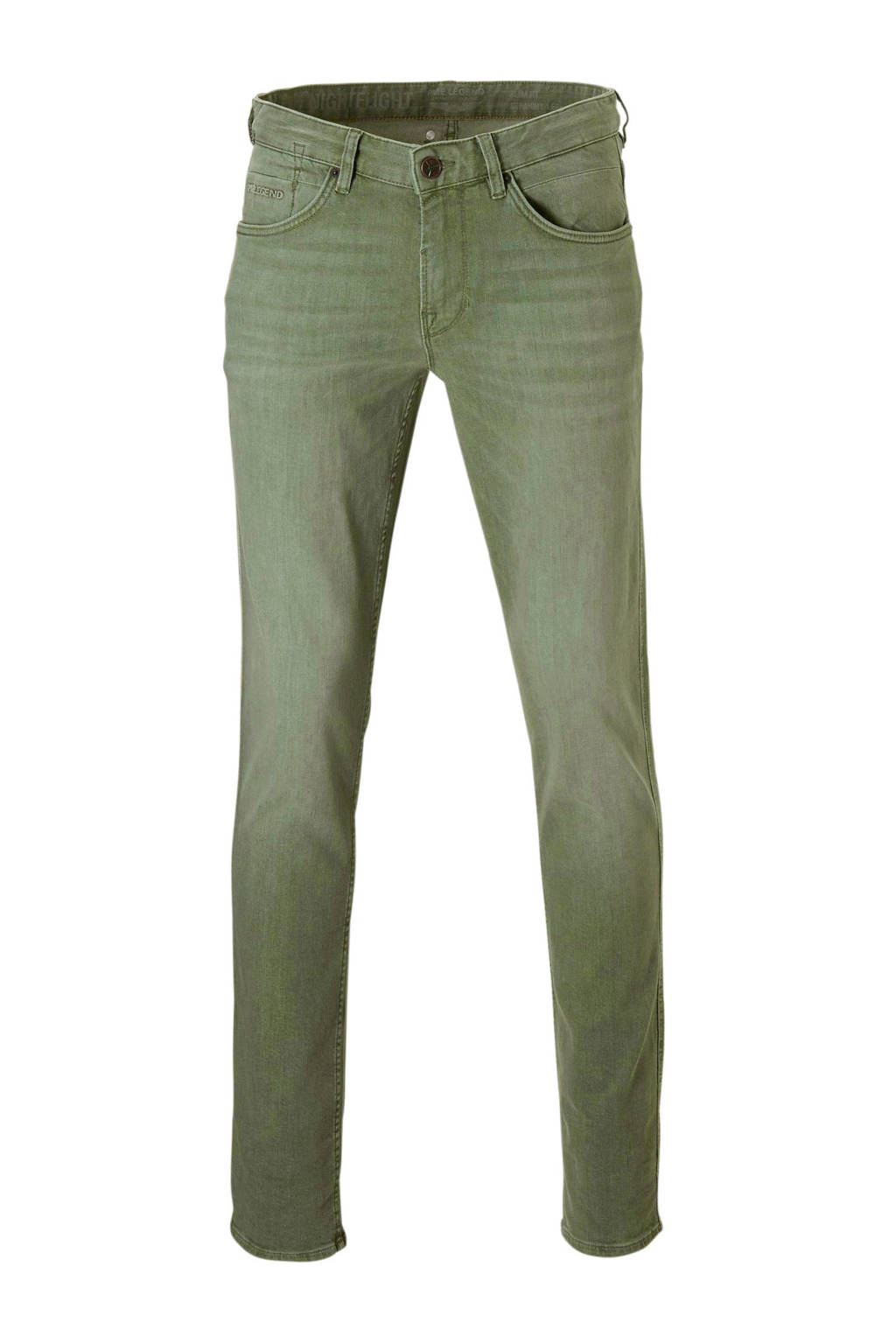 PME Legend slim fit jeans Nightflight groen, Groen