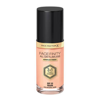 Facefinity All Day Flawless 3-in-1 Liquid Foundation - 50 Natural