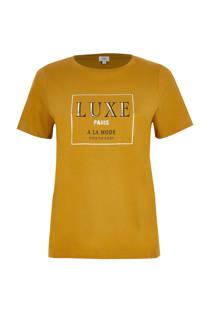 River Island T-shirt met tekstopdruk