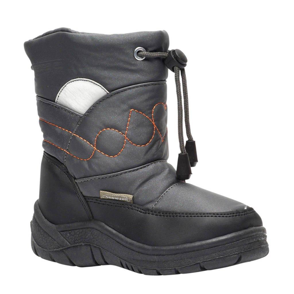 Scapino snowboots kids, Zwart/grijs