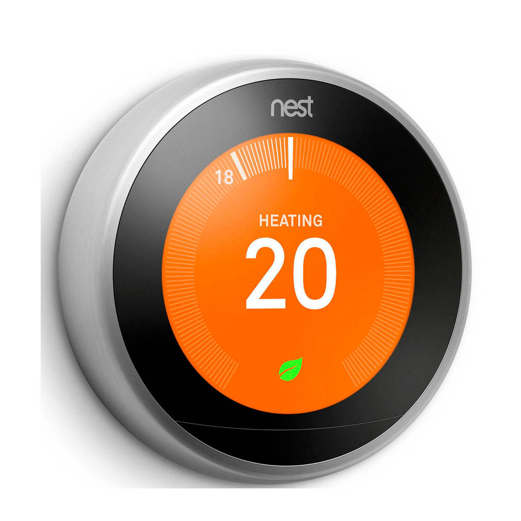 Nest THERMOSTAT 3RD G slimme thermostaat, Zilver