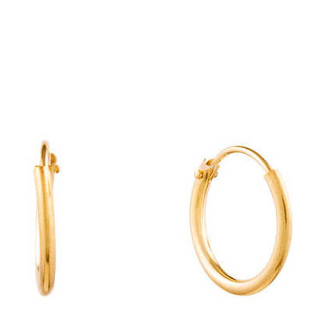Isabel Bernard gouden oorbellen IB0301173, Goudkleurig