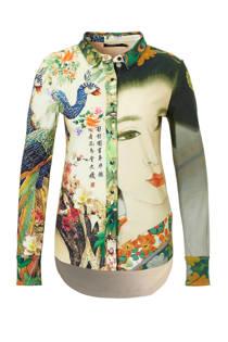 Desigual blouse met all over print (dames)