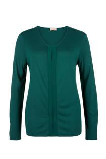 TRIANGLE top groen (dames)