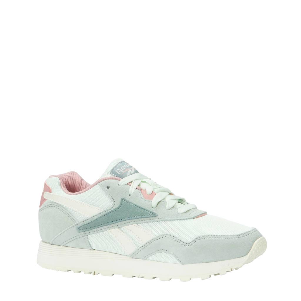 Reebok  Rapide sneakers lichtgrijs, Lichtgrijs/mintgroen/roze