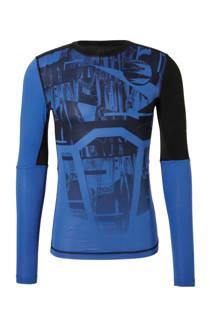 Reebok   sport T-shirt zwart/blauw (heren)