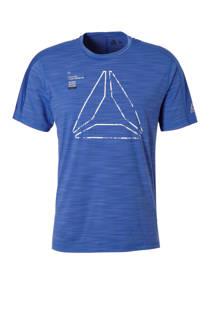 Reebok   sport T-shirt blauw (heren)