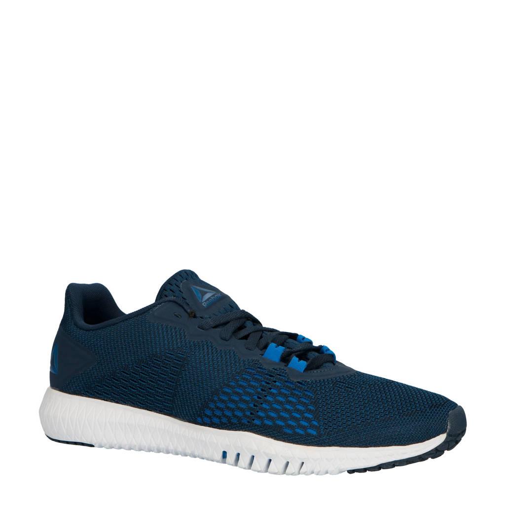 Reebok Flexagon Fit fitness schoenen, donkerblauw/kobalt