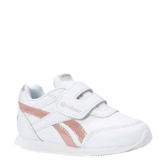 Royal CLJOG 2 sneakers wit/roze meisjes